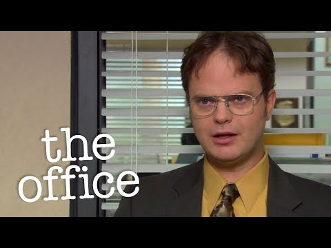 Dwight Punches Michael  - The Office US