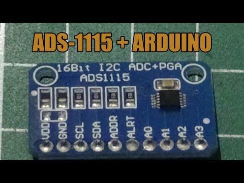 Usando El Módulo ADS 1115 Con ARDUINO