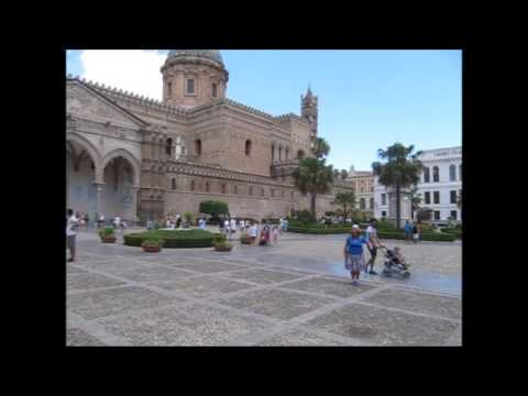 Palermo Cathedral Street Preacher---Sicily, Italy