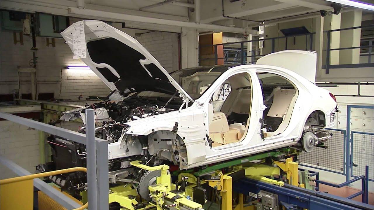Mercedes-Benz 2014 S-Class Production Sindelfingen Plant ...  Sindelfingen