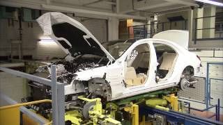 Mercedes-Benz 2014 S-Class Production Sindelfingen Plant HD