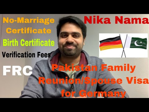 🇵🇰 🇩🇪 Family Reunion/Spouse Visa for Pakistani's 🇵🇰 | Problems and their Solutions