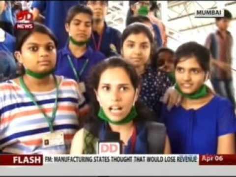 DD News News 06 Apr 2017 01min 44sec Vivekanand  Education Society 18 25pm