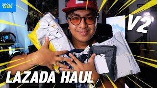 LAZADA HAUL + MYSTERY UNBOXING V2! ( Classic Unboxing )