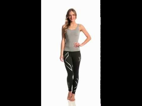 2XU Women's Compression Tights | SwimOutlet.com