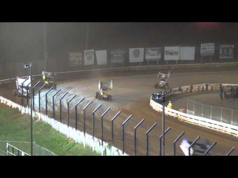 Williams Grove Speedway 410 and 358 Sprint Car Highlights 9-20-13