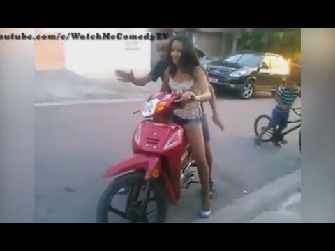 Teach me how to drive bikes .. بصى بقى حنطلع كدة طوالى