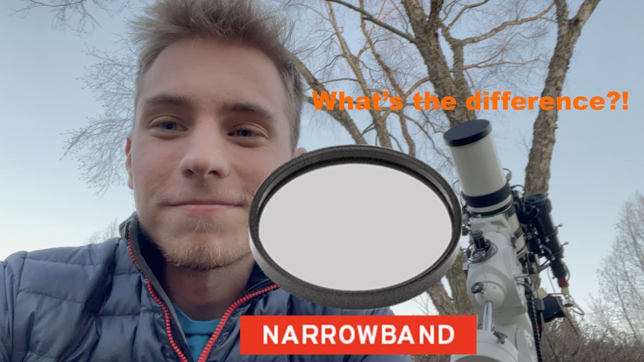 Astrophotography: What's the difference between 3 and 7nm Narrowband Filters?