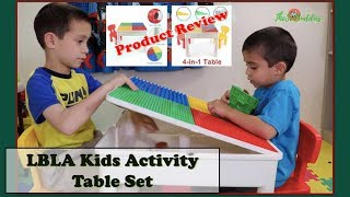 LBLA Kids Activity Table Set   Product Review   TheSciBuddies