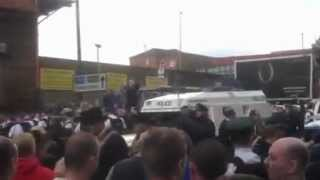 Scum attacking Govan Prod Boys