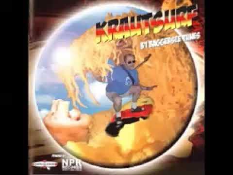 Various – Krautsurf : Baggersee Surf Instrumental Hot Rod Rock Tunes Neo Bands Music Compilation LP