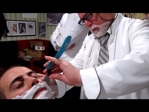 💈-old-school-italian-barber---shave-with-straight-razor-and-hot-towel---asmr-intentional-sounds