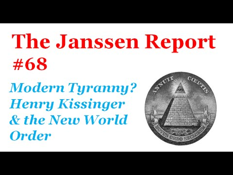 Modern Tyranny You Decide The New World Order By Henry Kissinger