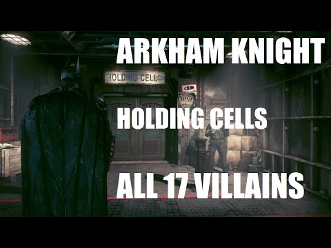 Arkham Knight: All Captured Villains ( Including Season of Infamy Expansion) |