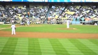 Cincinnati Reds vs Los Angeles Dodgers 6/14/11 part 9