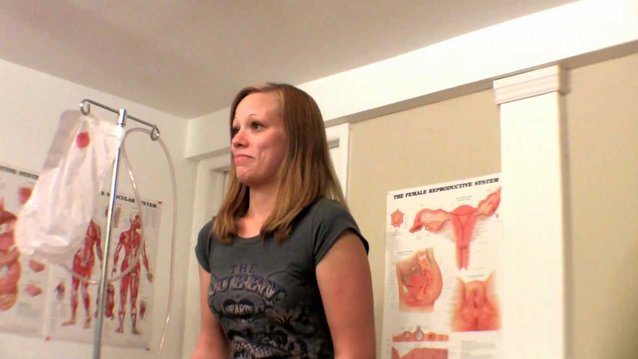 Shelly Talks About Her Enemas