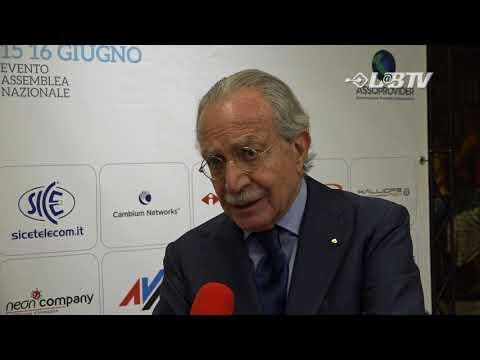 APRO18 - Intervista a Maurizio Decina Presidente Infratel