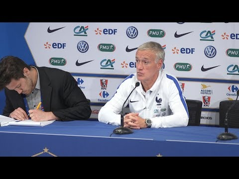 Didier Deschamps Pre-Match Press Conference - France v Engla