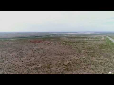 Hobbs New Mexico Oil Fields Flight Phantom 4 Pro