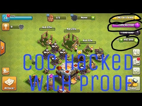 How to download clash of clans hack version|updated| 2017 !! September!! without  ROOT