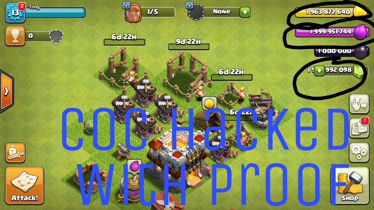 download clash of clans hack games