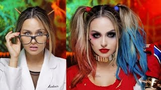 Harley Quinn Suicide Squad Glam Makeup Tutorial thumbnail