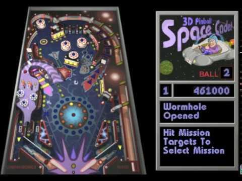 gratis juego pinball 3d cadete espacial