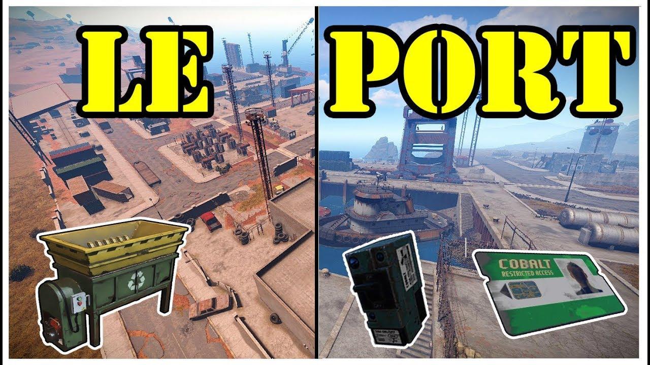 Carte Bleue Rust.Rust Cartes Recycleur Le Port