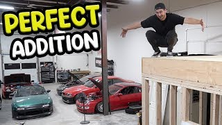 BUILDING MY OWN GARAGE LOFT!
