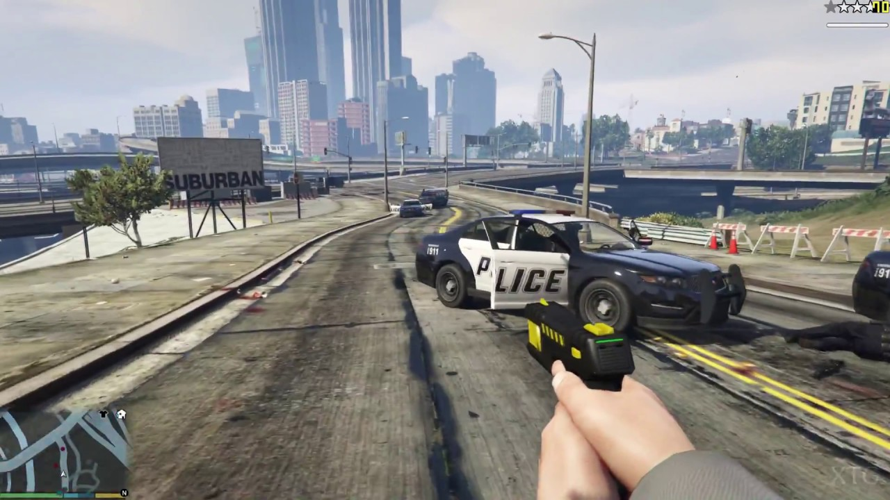 Grand Theft Auto V PC Gameplay HD