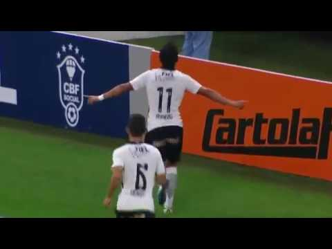Corinthians 2 x 1 Santa Cruz   GOLS e Melhores Momentos   Brasileirao 25 06 2016