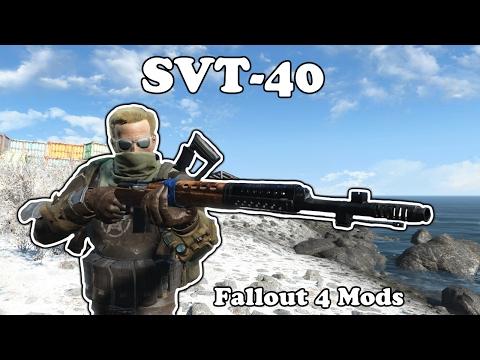Fallout 4 Mods - SVT-40