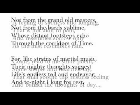 """""""The Day is Done"""" by Henry Wadsworth Longfellow (read by Tom O'Bedlam)"""