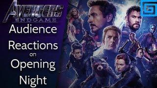 Endgame: Audience Reactions (opening night)