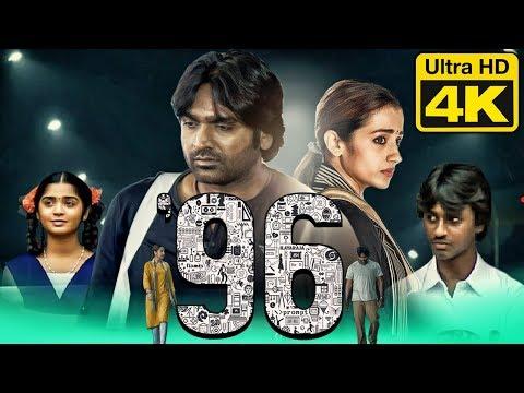 96 (4K Ultra HD) Hindi Dubbed Movie   Vijay Sethupathi, Trisha Krishnan