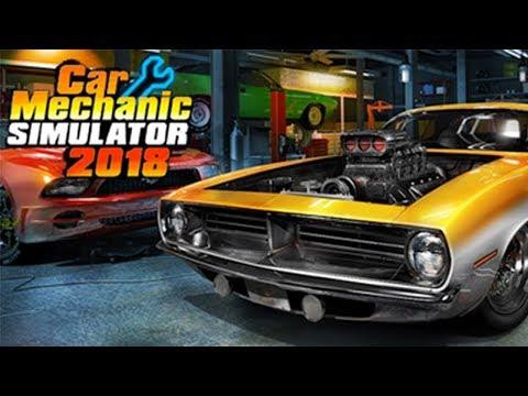 Прохождение - Car Mechanic Simulator 2018 - Первая Работа #1