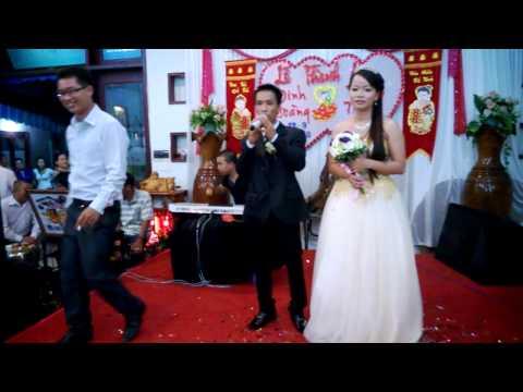 Đám cưới Trâm - Chú rề hát tặng cô dâu hehe