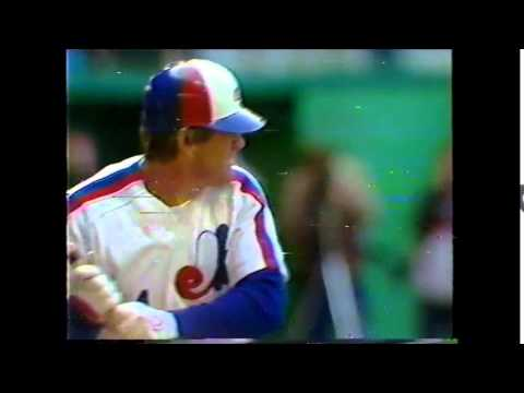 Pete Rose - 4000 Hits - 1984 CBC-TV Montreal Expos broadcast - second attempt