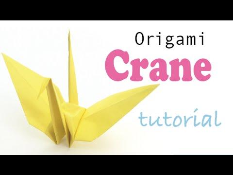 Origami Crane Tutorial - Origami Kawaii〔#001〕