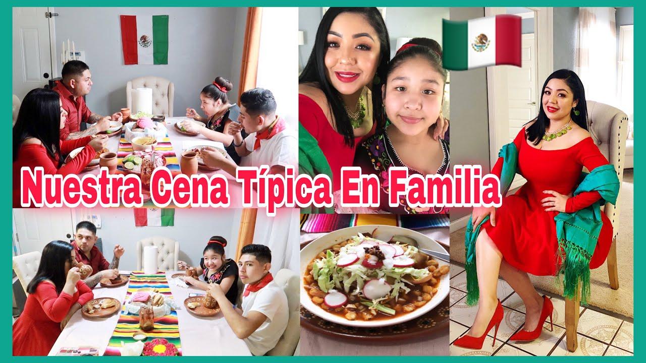 Así Celebramos En Familia 🇲🇽Cocine Pozole Rojo Y Chocolate Calientito / Vlog