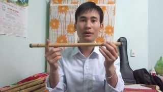 1. Hướng dẫn thổi sáo 2015: Tập thổi kêu -- (sáo trúc Cao Trí Minh)