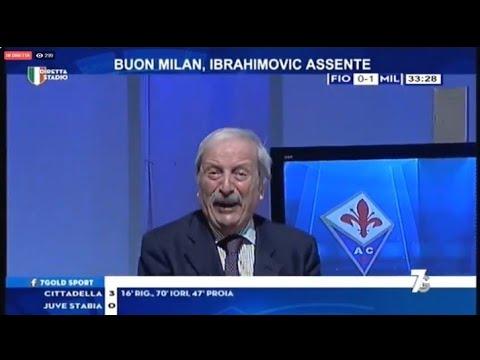 #Fiorentina #Milan 1-1 highlights con Tiziano #Crudeli ...
