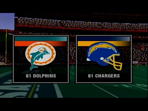 Madden 2004 81 Dolphins vs  81 Chargers at Pro Bowl