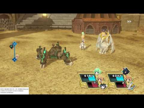 WORLD OF FINAL FANTASY Coliseum:(The Bane of Organic Life) Bane Omega lvl 90 Boss Fight