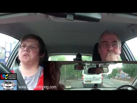 Dean's 1st driving lesson with Bob