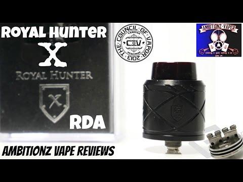 Royal Hunter X RDA by Council Of Vapor Review
