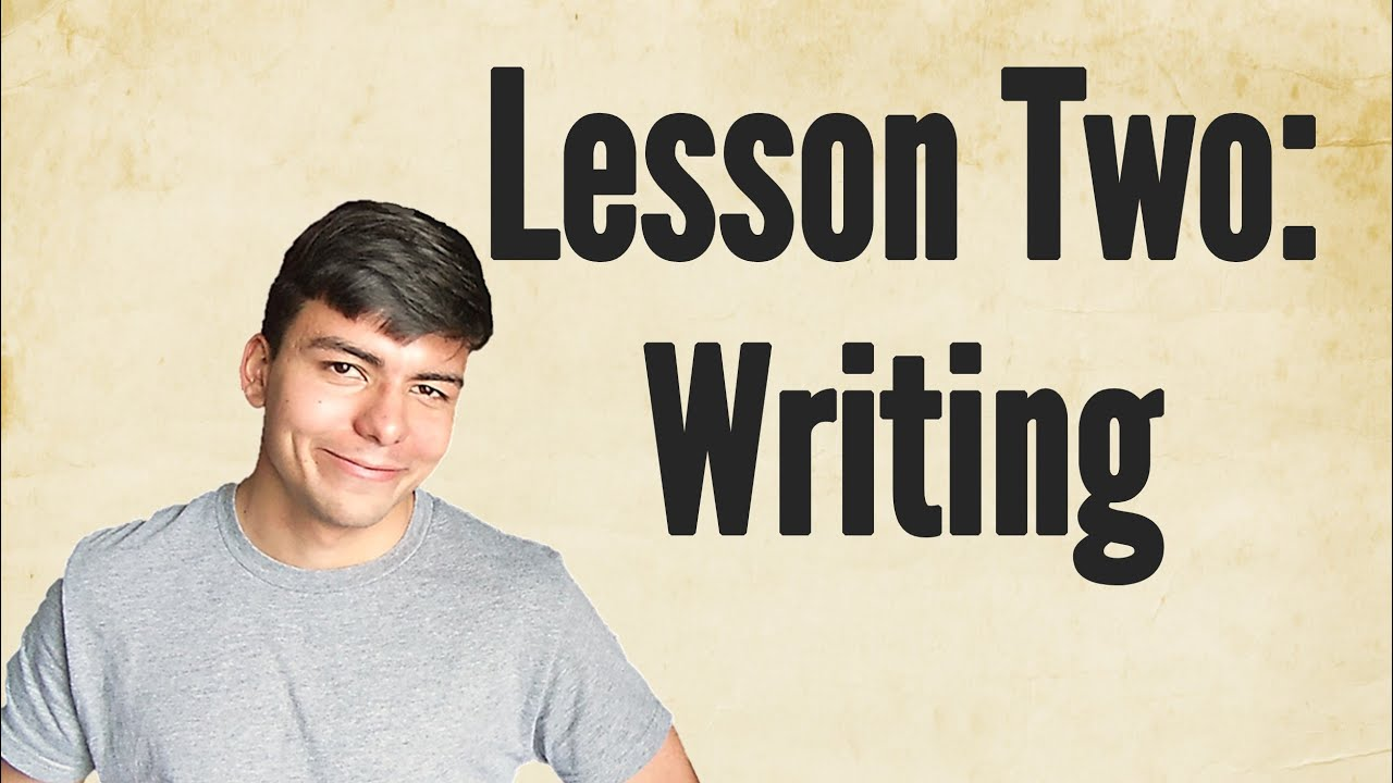 Design your own t shirt lesson plan - How To Make Your Own Writing System Make Your Own Fantasy Language Lesson Two Youtube