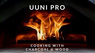 Cooking with charcoal & wood