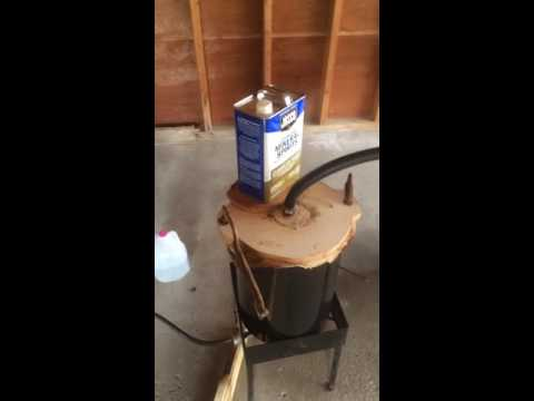 Steam bending wood with no steam box