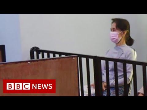 Trial of Myanmar's Aung San Suu Kyi begins - BBC News